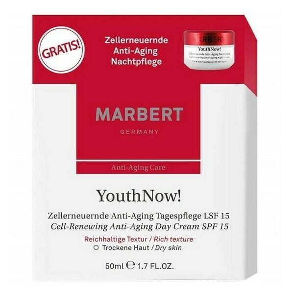 Marbert YouthNow! Anti-Aging Creme für Trockene Haut 50 ml + 15 ml