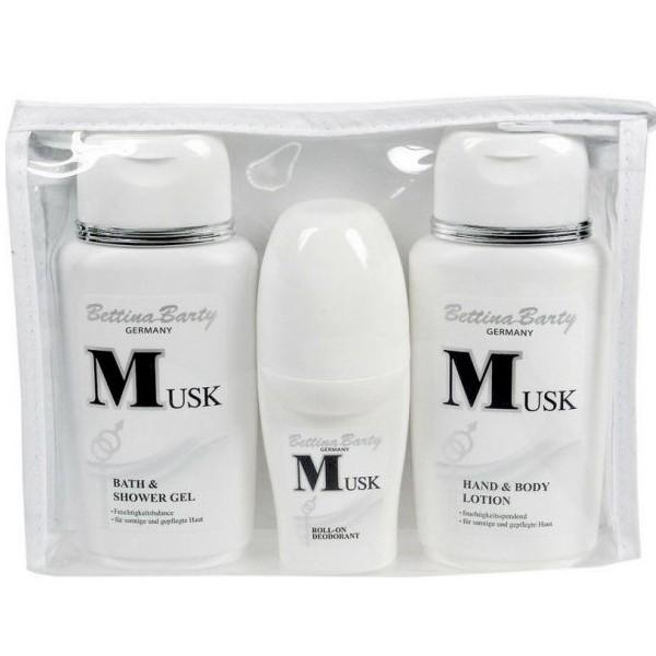 Bettina Barty Musk Hand & Body Lotion 150 ml + Bath & Shower Gel 150 ml + Deodorant 50 ml