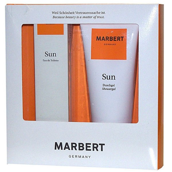Marbert Sun EDT 100 ml & Duschgel 200 ml Fragrance Set