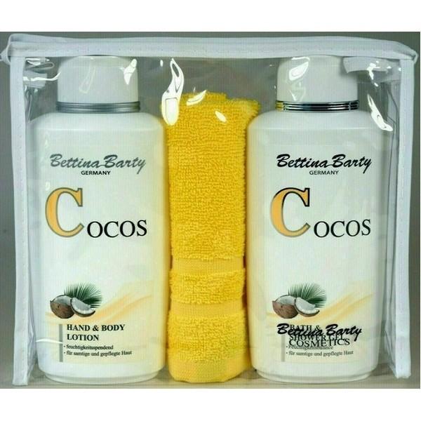 Bettina Barty Set Cocos Hand & Body Lotion 500 ml & Shower Gel 500 ml