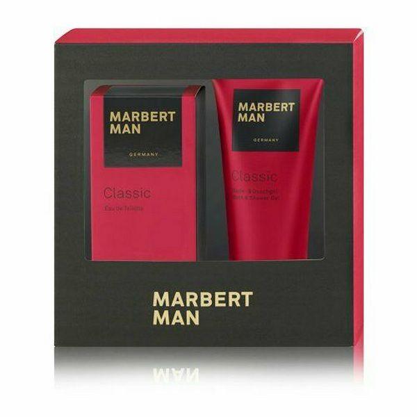 Marbert Classic Man EDT Spray 100 ml & Duschgel 200 ml, Geschenkset