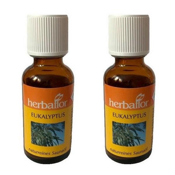 Herbaflor Eucalyptus Sauna Oil Sauna Infusion Sauna Fragrance 2 x 30 ml