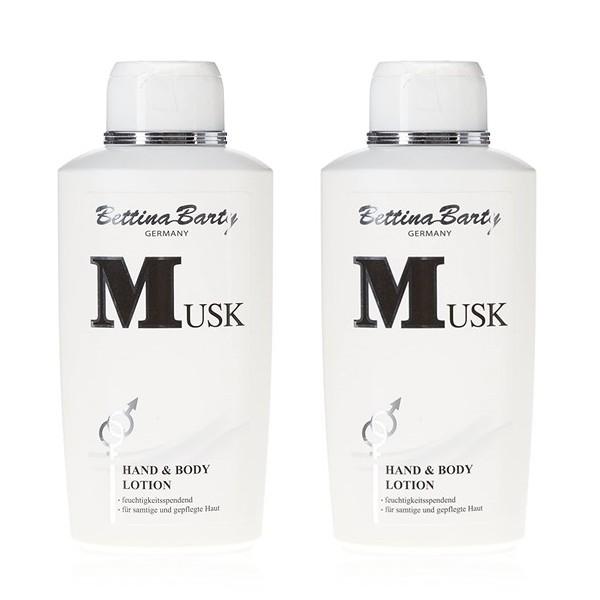 Bettina Barty Musk Hand & Body Lotion 2 x 500 ml