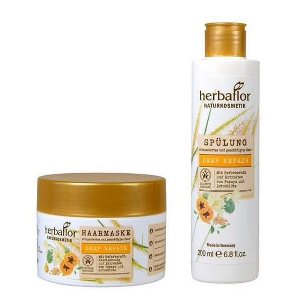 Herbaflor Deep Repair Conditioner 200 ml & Hair Mask 200 ml Set