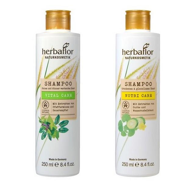 Herbaflor Shampoo Nutri Care 250 ml & Shampoo Vital Care 250 ml Set