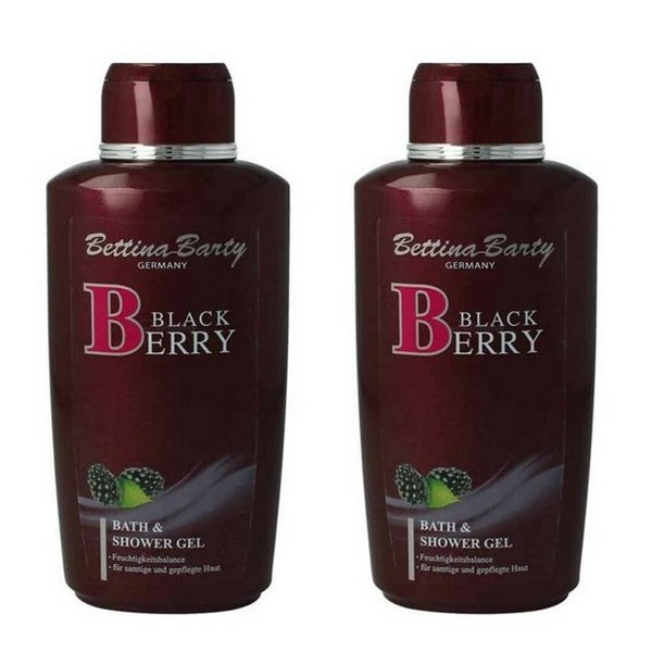 Bettina Barty Blackberry Bade & Duschgel 2 x 500 ml