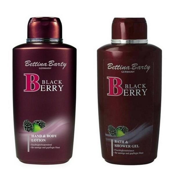 Bettina Barty Blackberry Hand Body Lotion 500 ml & Duschgel 500 ml
